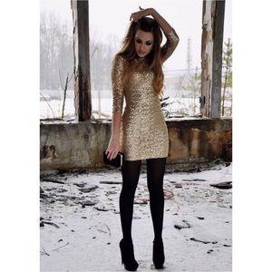 NWOT Ark & Co. Sequins Dress